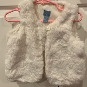 GAP Jackets & Coats - Girl's faux fur vest